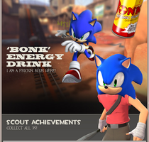 SONIC IS SCOUT by Jetire911