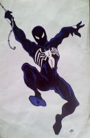 Venom Spider-man by Spartan-055