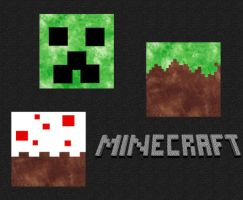Minecraft Pillows by ChallengeSakana