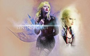 SYNTHPROJECT: Black Snow by UniqueOneDesigns
