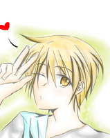 Kise doodle by xMiharuYoite