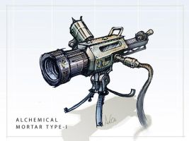 Alchemical Mortar, Type-I by Shrinecat