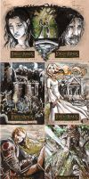 LOTR: Masterpieces set 1 by RenaeDeLiz