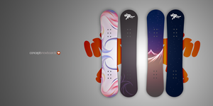 Concept Snowboards 1 and 2 by ardcor