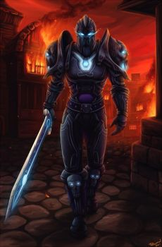 Death knight by PersonalAmi
