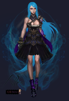 Althea 3D for The Black Mirage - Contest by Shouyo-Maya