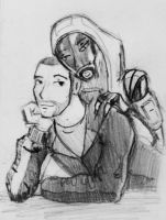Tali x Shepard (73) by spaceMAXmarine