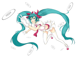 ~Hatsune Miku by WilliamHighness