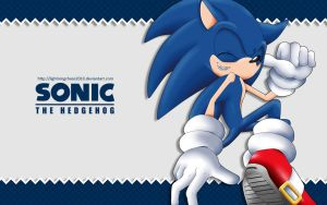 Sonic Wallpaper by LightningChaos2010