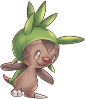 Harimaron   Chespin Commission by AutobotTesla
