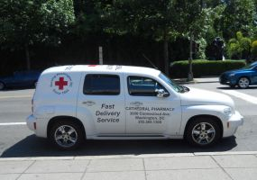 Cathedral Pharmacy Delivery Truck by Chlodulfa
