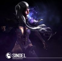 Queen Sindel X by Nonestica