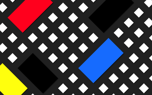 Inspired by Theo van Doesburg - Composition XV by Manshonyagger