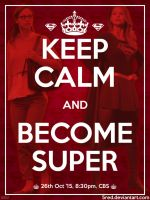 Keep calm poster by 5red