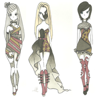 get scared fashion set by Aii-Cute