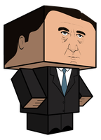 Cubeecraft Frank Underwood - House of Cards by JagaMen