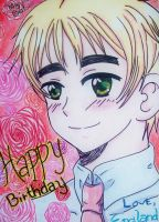 APH: Happy Birthday from Arthur Kirkland by kahochanlenkunlovers