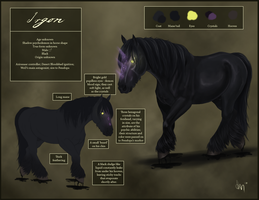 Reference sheet - Irgon by KathyKnodoff