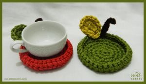 Crochet Coaster by GehadMekki
