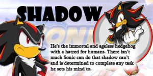 I'm Shadow this Time! YAY by SondowverDarKRose