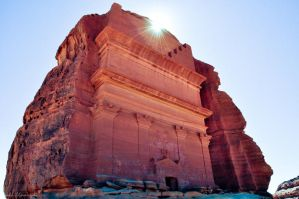 madain saleh by blackhand1