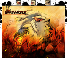 Arcanine Pokemon by jaguar811