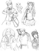 Possible future print sketches + doodles by SkiM-ART
