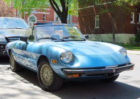 1979 Alfa Romeo Spider Veloce Convertible - Front by Kitteh-Pawz