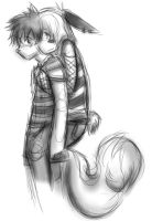 Piggy Back Ride:: by balloon-sk3tch