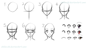 [Tutorial] how I draw FT head and eyes by xHikacchi