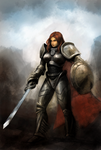 Paladin girl by atma33