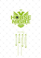Flyer HouseNight pt.2 v3 by photoshop-freak