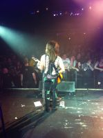 On Stage with Steel Panther, 5/17 by Chillachin