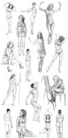 Female body studies by AncientKing