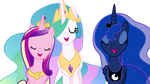 The 3 Singing Princesses by xXPhantomXXx