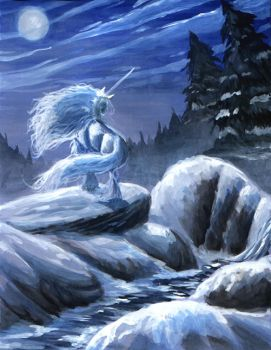 lady of the snows by hibbary