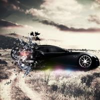 a new Bugatti car by Mido-san-mg