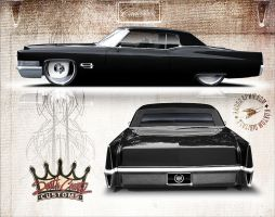 1970 Cadillac Deville by ZeROgraphic