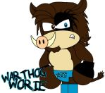 Warthog Worie by AshleyWolf259