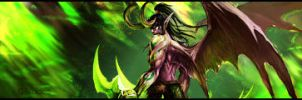 Illidan Stormrage Signature by ericlesk