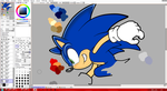 Sonic Channel Practice by LightningChaos2010