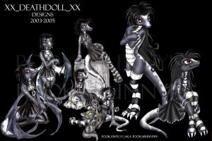 DeathDoll's Designs by PookaWitch