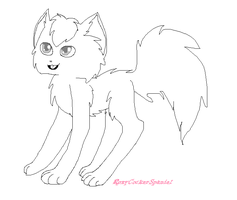 Free cat lineart/base by RoxyCockerSpaniel