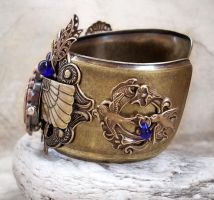 Steampunk Watch - Egyptian 1 by Aranwen
