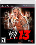 WWE Ps3 box by Risea