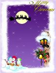 Merry Christmas 1 Greeting Card by Mango84