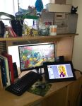 My workspace 2016 by Emilia89