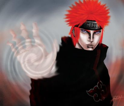 Naruto Girei (Pain) by blkdragon001