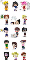 Naruto chara's buddypoke'd by Numbuh-9