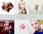 Texture and Psd pack #1 by GraphicEssencePage